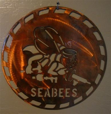 Military Logo 9 Metal Wall Art